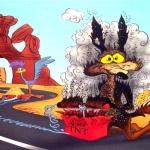 Wiley E Coyote -Boom