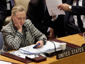 Does Hillary Clinton have BedBugs in the UN building? NYC